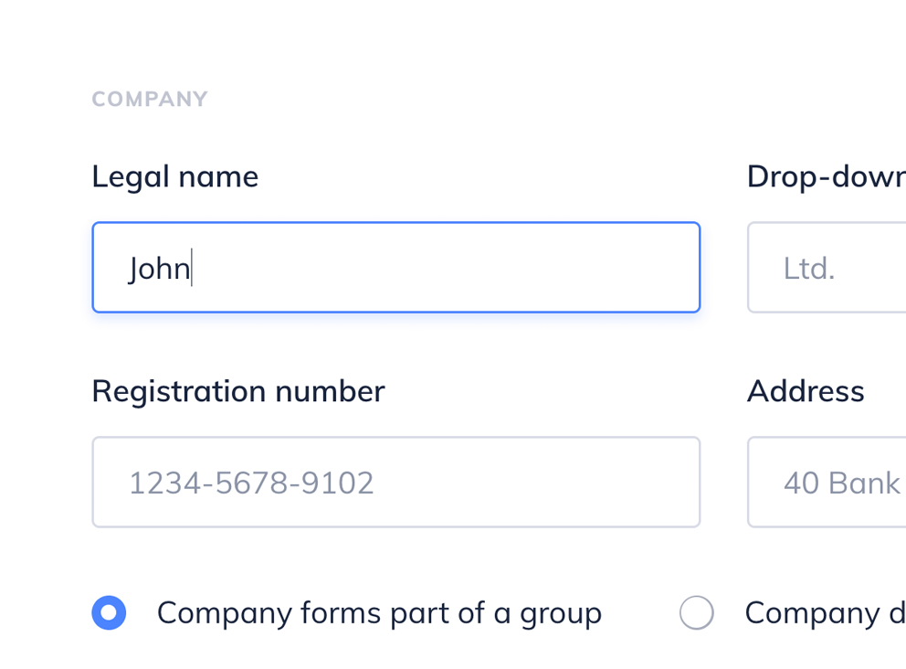 Populate the form with data